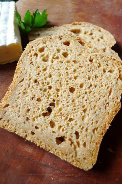 glutenfreies Brot mit Braunhirse