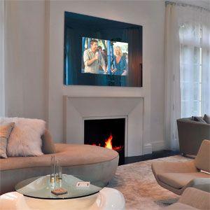 Inside An Unconventional Mirror Tv Install Arlen Schweiger Ce Pro Products I Love Pinterest Tvirror