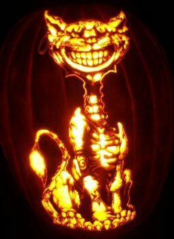 This Cheshire Cat is on fiiiireee