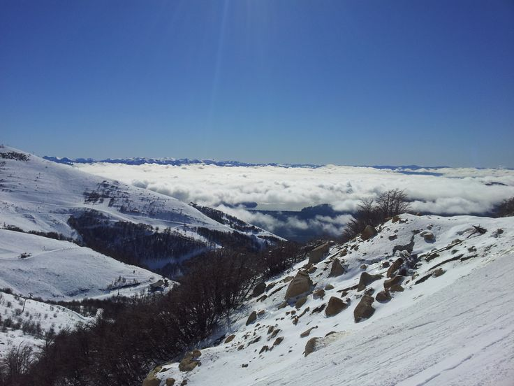 #cerrocatedral #bariloche #nieve #nubesbajas