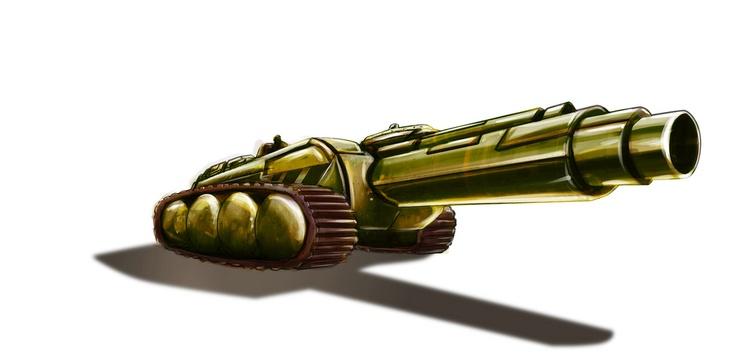 Digital Tank... Object Design by R2frito