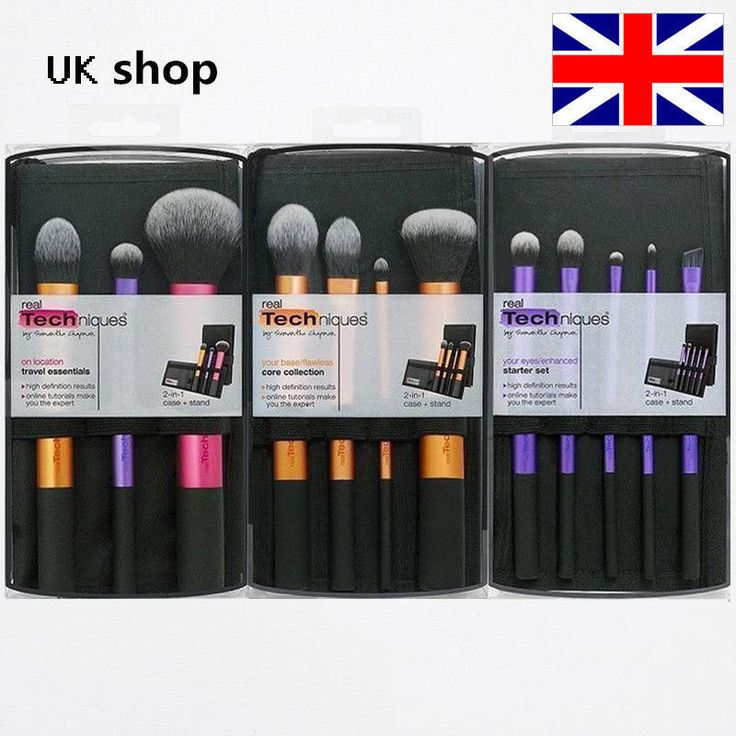 3 sets Real Techniques Makeup Brushes Core Collection,Starter Travel Essentials in Health & Beauty, Make-Up, Make-Up Tools & Accessories | eBay
