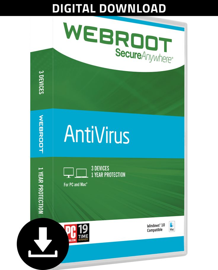 Webroot Antivirus 2017   3 Devices   1 Year   PC [Download] http://ift.tt/2jwVURr