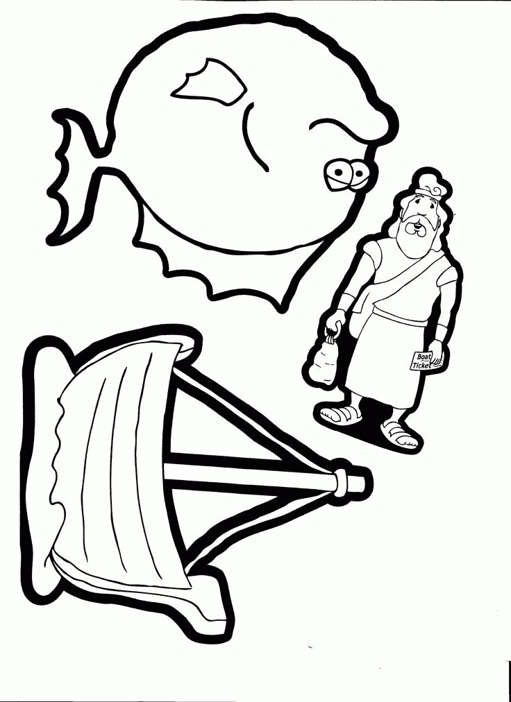Download or print this amazing coloring page: Jonah ...