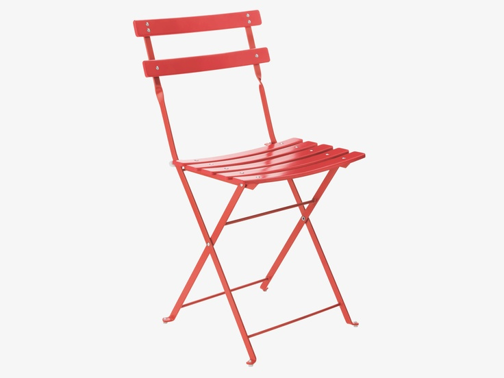 PARC RED Outdoor folding chair - Outdoor- HabitatUK