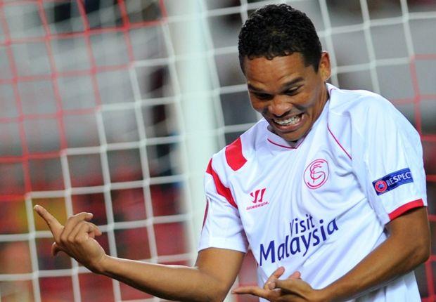 Sevilla dreaming of top-four finish,says Sevilla striker Carlos Bacca