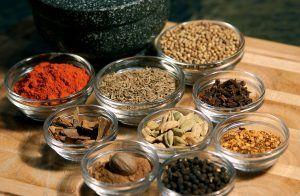Baharat a közel-keleti fűszerkeverék