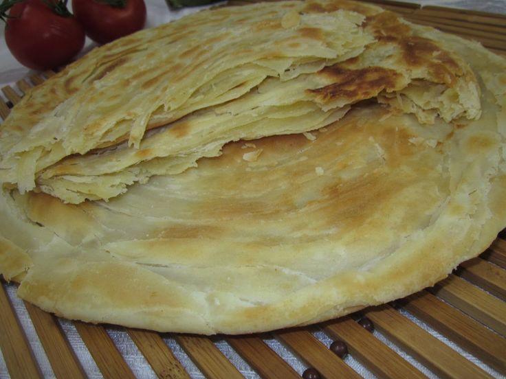Рецепт -  Китайская слоёная лепёшка
