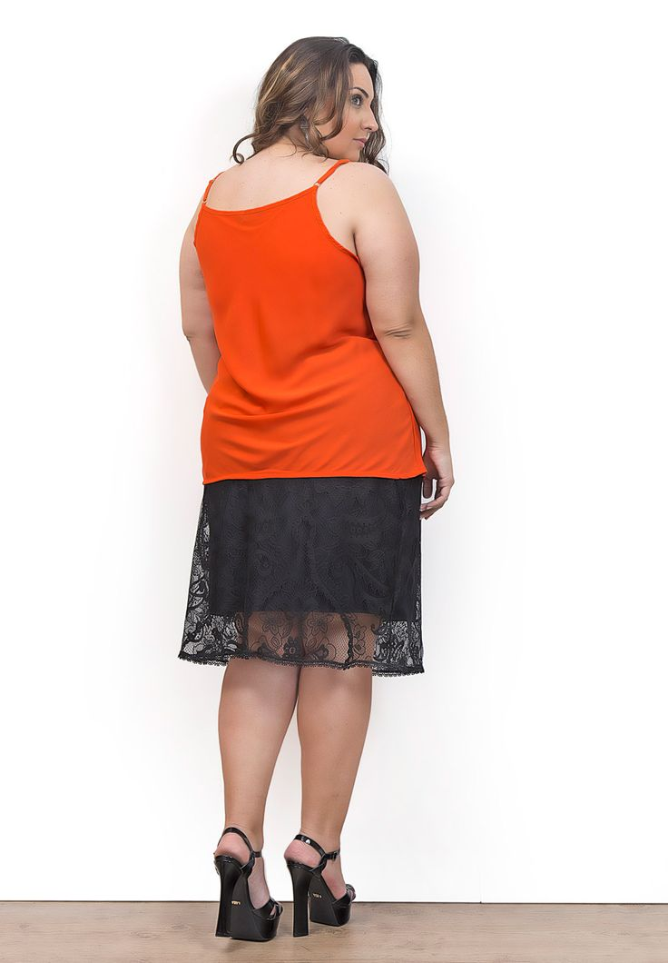 Regata Party Sun - Roupas Plus Size   Rouge Marie