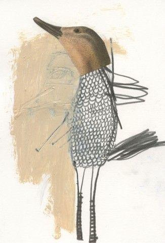 Winged Things - drawings