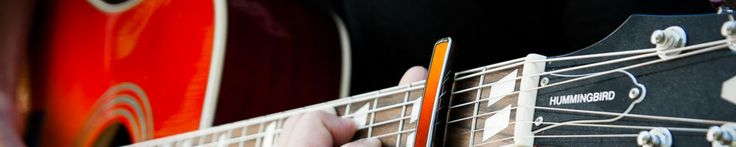 Not sure which capo is right for your guitar? Do you still think there's only one type of capo? We're here to help.