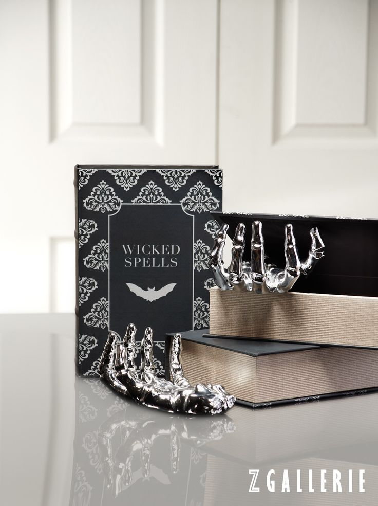 make your halloween haunting chic click to shop our halloween decor on zgalleriecom