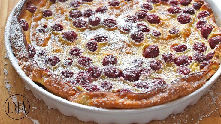 Clafoutis Aux Cerises (Cherry Clafoutis) Recipe