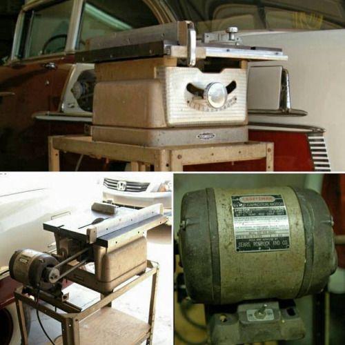 C F A Ead De C Ba Craftsman Table Saw Vintage Tools