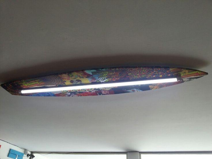 Lampara estilo surfista para 3f