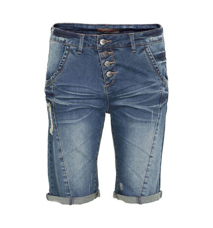 Damen Jeans Shorts blau Denim Hunter Gr.28