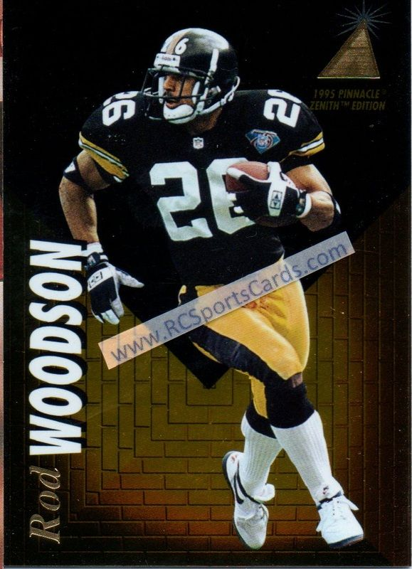 0f4c1f6f4 ... hot rod woodson rookie card 1995 pittsburgh steelers football trading  cards c526b f7dce new zealand rod woodson mens game black jersey nike ...