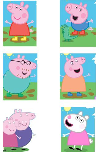 Last year she wanted peppa, this year its george. lol   Oinkingly Amazing Peppa Pig Party Ideas — How to Run a Kids Party