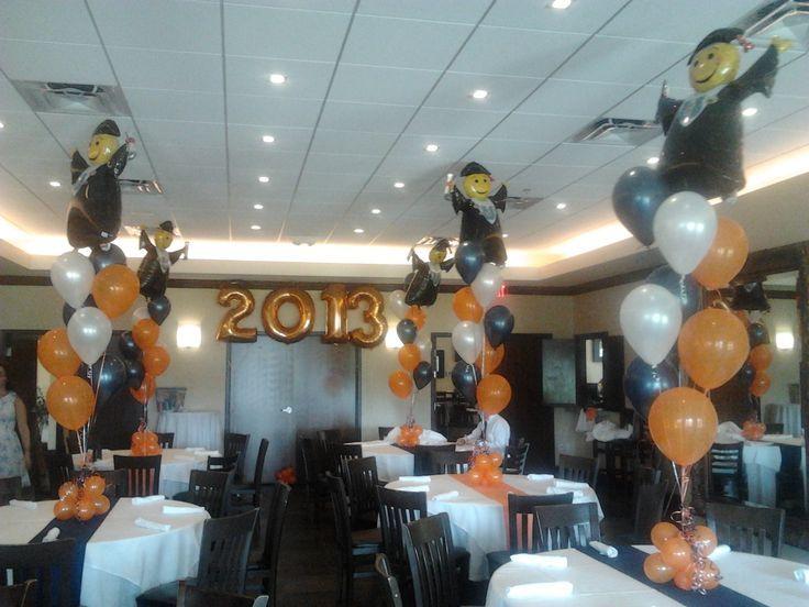Graduation Balloon Centerpieces & Gifts Helium Balloon Decorating in Wellington FL