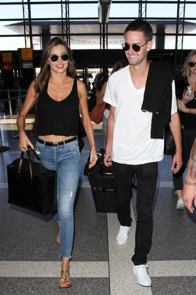 Miranda Kerr spotted with new boyfriend Evan Spiegel - Foto 1