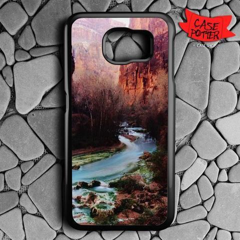 Havasu Canyon Creek Samsung Galaxy S6 Black Case