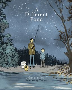 A Different Pond    This completely drew me in with its descriptive, beautiful language and imagery. The story of a boy going fishing with his father early one Saturday morning in order to feed the family is about so much more.