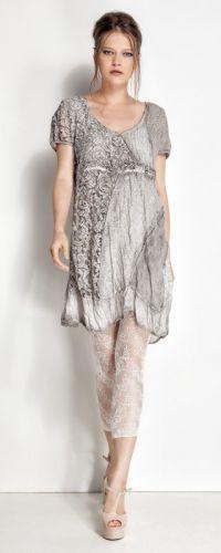 Elisa Cavaletti Club, Kleid / Dress  SE14500, L, XL, XXL - hellgrau