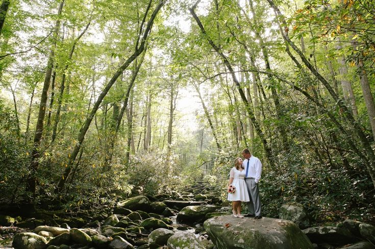 Courtney & David's Smoky Mountain National Park Elopement » Leah Moyers Photography
