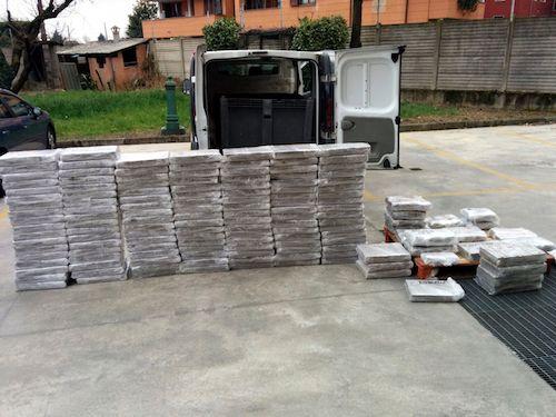 Pavia: sequestrati 1200 chilogrammi di hashish arrestato trafficante internazionale