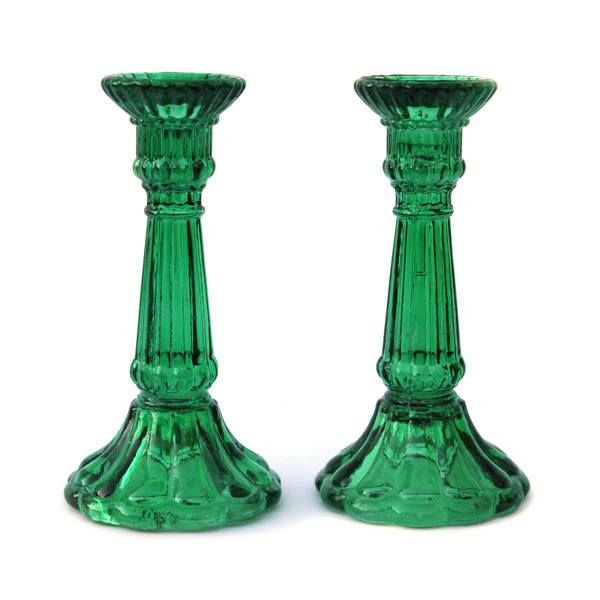 Excited to share the latest addition to my #etsy shop: Beautiful Art Deco Hollywood Regency Emerald Green Glass Candlesticks http://etsy.me/2F3Tkdw #candles #holder #green #bedroom #emerald #glass #artdeco #hollywoodregency #chinoiserie