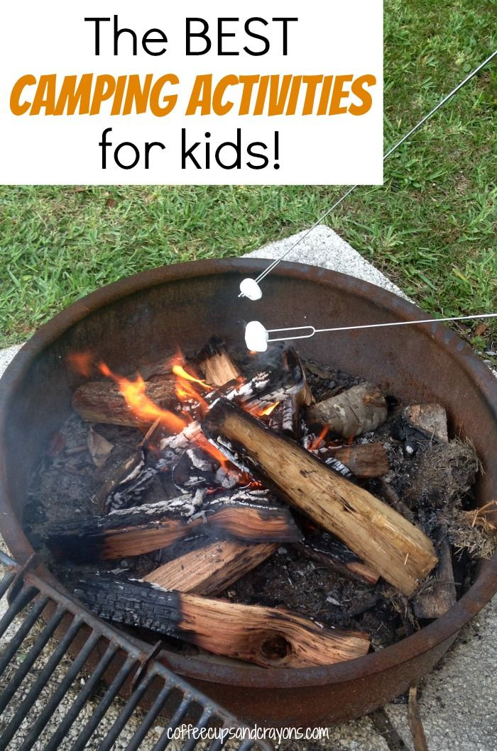 The BEST Camping Activities For Kids KOACamping