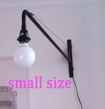 small size studio workshop wall lighting living room bedroom sconce Jean Prouve Vitra Potence wall lamp studyroom wall light(China (Mainland))
