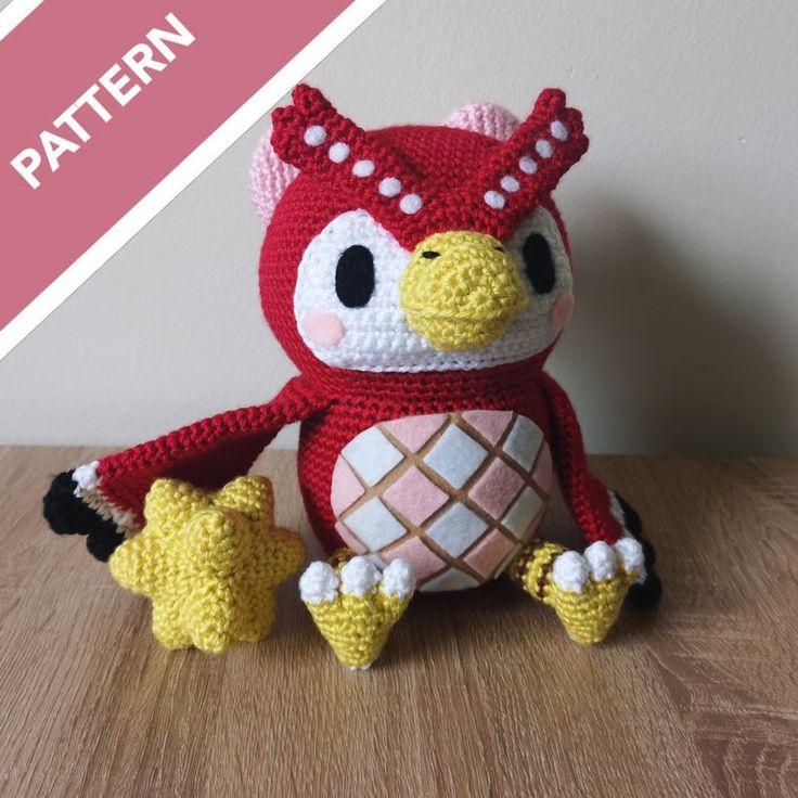 Celeste crochet pattern animal crossing pdf pattern etsy