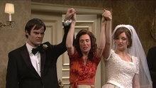 SNL Penelope at the wedding.  Kristen Wiig.