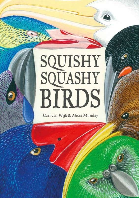 Discover Sammy's favourite New Zealand Birds, he keeps them hid in the pages of this book, all their odd personalities and colourful feathers hidden from the world.  Until one day Sammy decides to share his wonderful collection with his class and lets lose bird chaos. [$17.38]