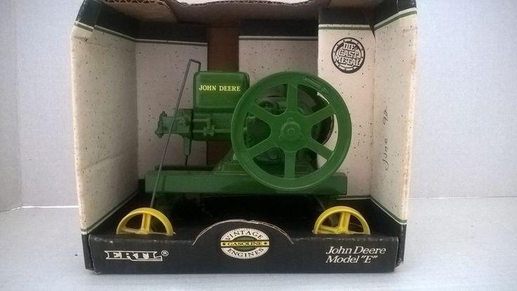 ERTL JOHN DEERE MODEL E FARM ENGINE 1/16th - New in Box  (67) #ERTL #JohnDeere