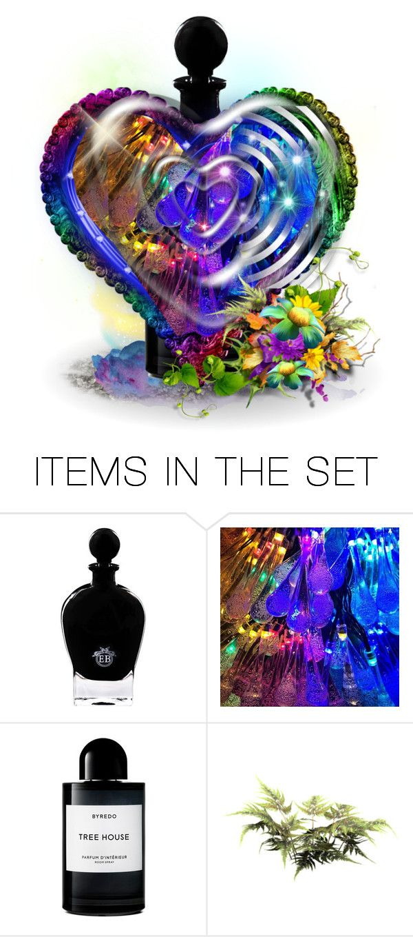 """""Rock and Roll Fantasy""  perfume and flowers"" by kathy-martenson-sanko ❤ liked on Polyvore featuring art"