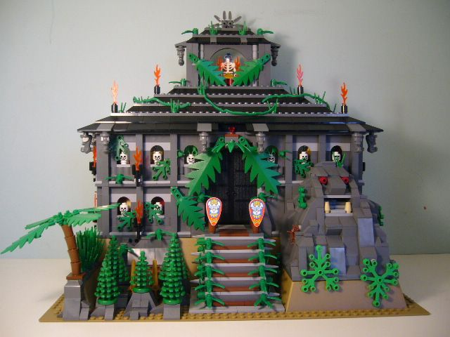 The Mega Mayan Temple
