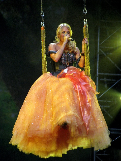 Carrie Underwood - saw her when she performed in this dress on a swing! LOVE IT