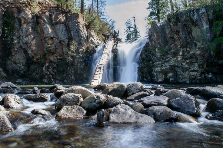 Northern, CA - About 45 min outside of Redding, California is this breathtaking waterfall, with being a relatively short hike makes it fun for all ages. The hike takes about 5 minutes from the road.