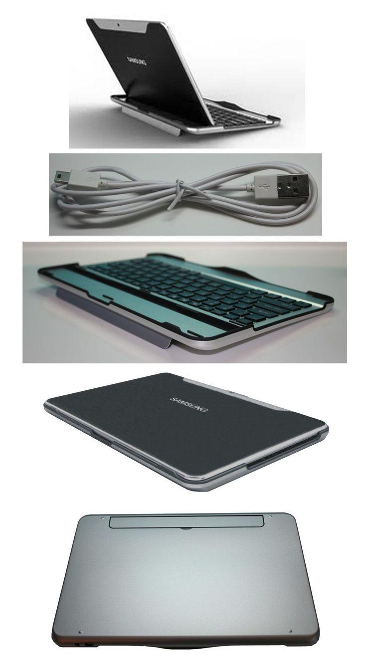 Kit Teclado Aluminio Bluetooth Para Samsung Galaxy Tab 10.1 - Need it. Looks so PRO!