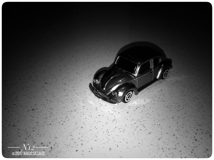Diecast Photography VW 1300 car scale 1:64