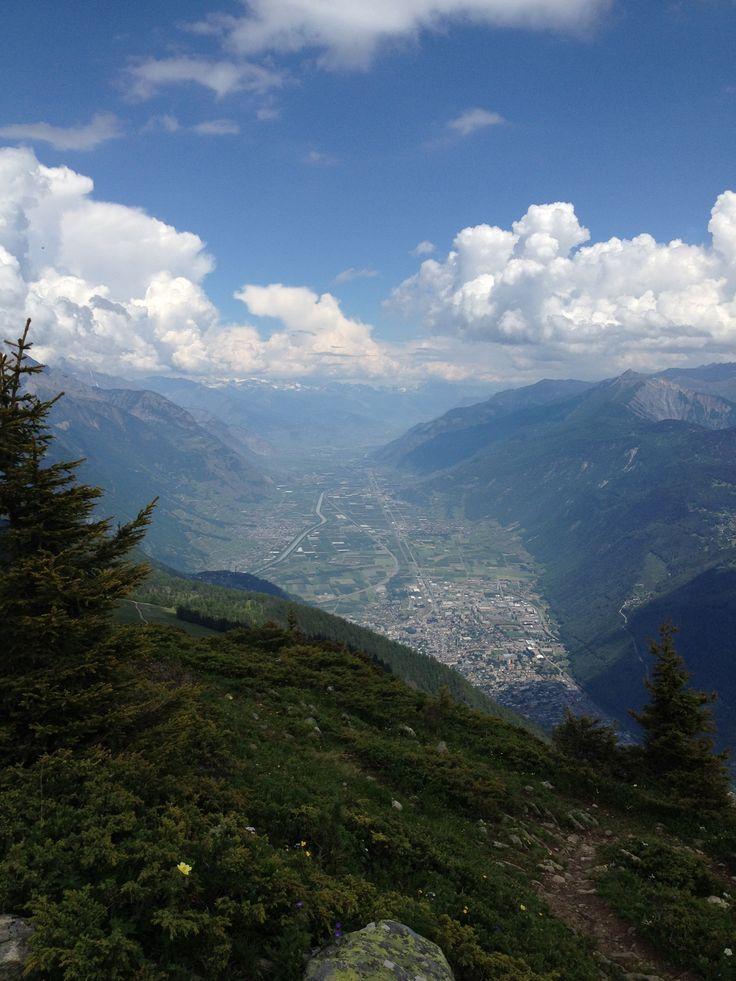 Mont de l'Arpille, La Forclaz