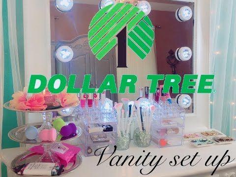 Dollar Tree Diy Makeup Organizer Storage Do It Yourself