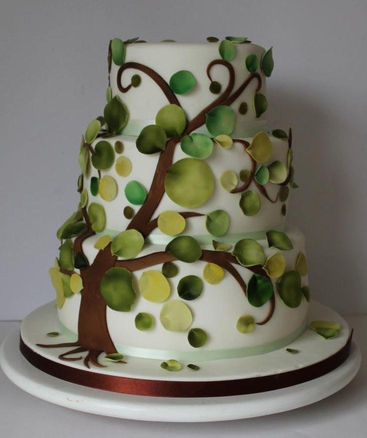 Vegan wedding cake - Cake by Happyhills Cakes