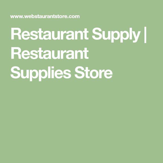 Restaurant Supply | Restaurant Supplies Store
