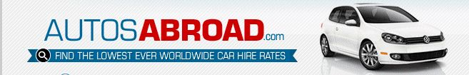 Book a car online for rent in Spain at low price from http://www.autosabroad.com/locations?Spain. They provide a huge variety of rental cars including luxury, exotic and SUV at reasonable prices for travelling in Spain, USA, France, Ireland and other countries.