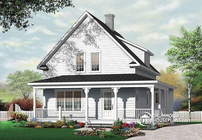country cottage house plans with porches w3512 country cottage with covered porch 3 large 26556