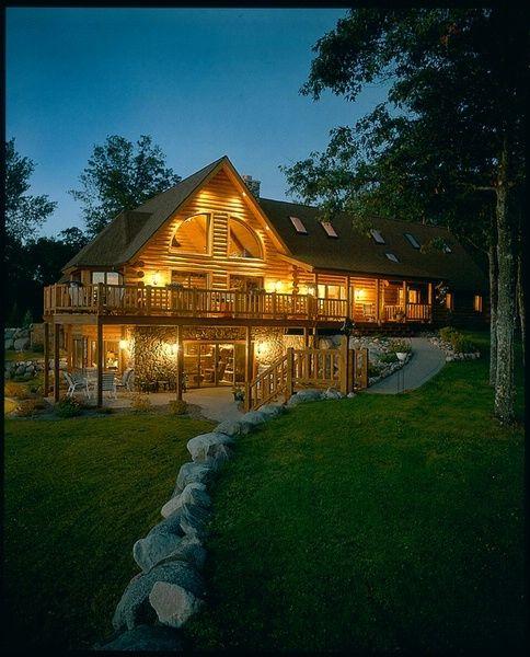 533 best Log Homes images – Tomahawk Log Home Floor Plans