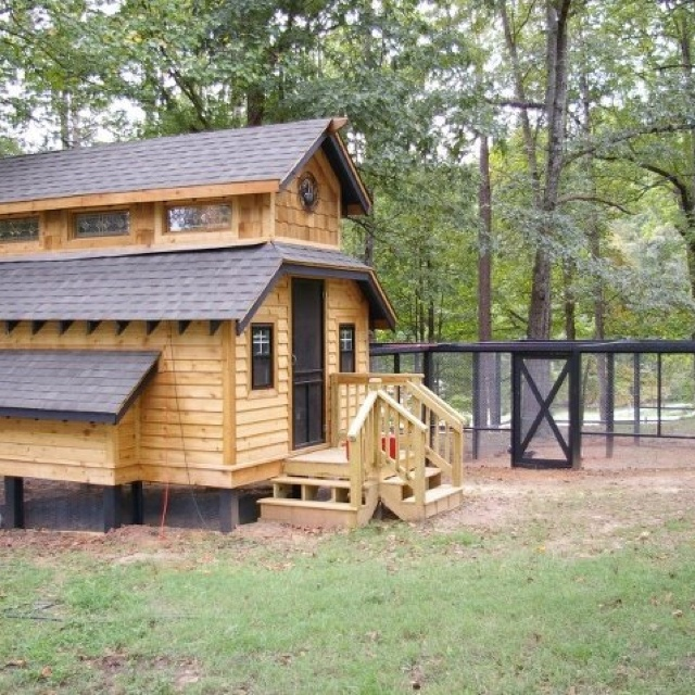 401 best images about cute coops on pinterest for Fancy chicken coops for sale